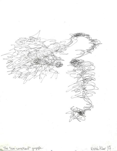 Drawing by Estée Klar
