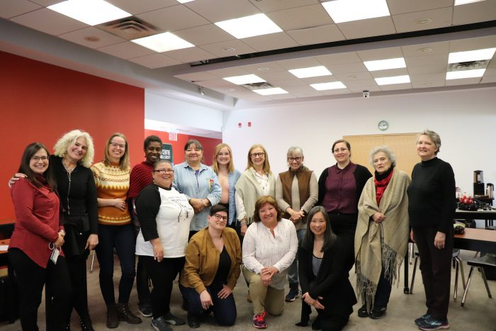 Group photo of Aging Vitalities participants