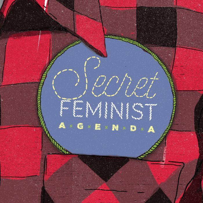The Secret Feminist Agenda logo.